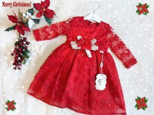 Дантелена детска рокля