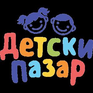 Detski pazar Logo. Лого на Детски пазар.