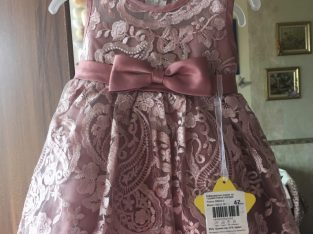 Нова офицална рокля за бебе
