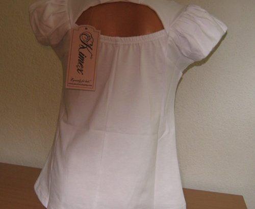 Блуза за момичета с роза