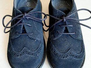 №19-№27, MELANIA, Обувки за момиче от Естествени велур