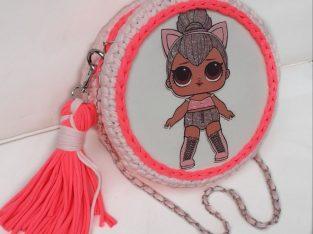 Детска плетена чанта кукла LoL