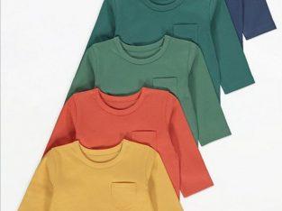 Лот от 5бр блузи с дълъг ръкав